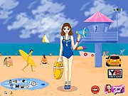 Click to Play Life Guard Dress Up