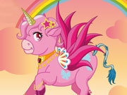 Click to Play Happy Pink Unicorn
