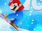 Click to Play Mario Ice Skating