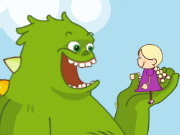 Click to Play Monster and Mindy