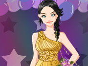 Click to Play Prom Queen Dress up game