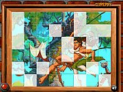 Click to Play Sort My Tiles Tarzan and Jane