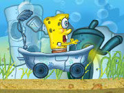 Click to Play Spongebob Bathtime Burnout 2