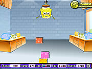 Click to Play Spongebob Square Pants - Cheesew Dropper