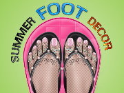 Click to Play Summer Foot Decor